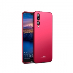 Husa Huawei P20 Pro (2018) + Tempered Glass-MSVII Red