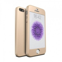 Husa Iphone 5,5S,SE-Iberry Full Cover 360° Aurie