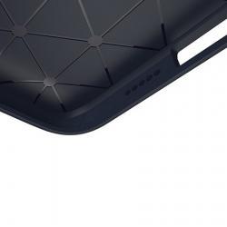 Husa Apple iPhone XS,Apple iPhone X-Iberry Carbon Dark Blue