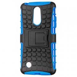 Husa LG V5,LG K10 (2017)-Armor KickStand Black/Blue