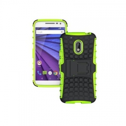 Husa Motorola Moto G4,G4 Plus-Armor KickStand Verde