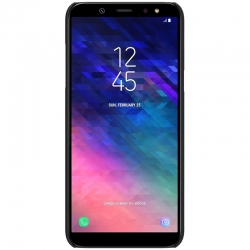 Husa Samsung Galaxy A6 2018 + Suport Birou-Nillkin Frosted Shield Neagra