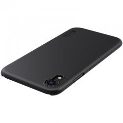 Husa Iphone XR + Suport Birou-Nillkin Frosted Shield Neagra