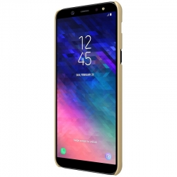 Husa Samsung Galaxy A6 2018 + Suport Birou-Nillkin Frosted Shield Aurie