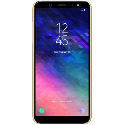 Husa Samsung Galaxy A6 2018 + Folie Protectie-Nillkin Frosted Shield Aurie
