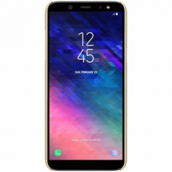 Husa Samsung Galaxy A6+ Plus 2018 + Folie Protectie-Nillkin Frosted Shield Aurie
