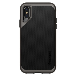 Husa Apple Iphone XS,Iphone X-Spigen Neo Hybrid Gri