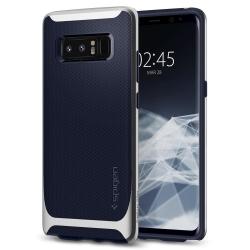 Husa Samsung Galaxy Note 8-Spigen Neo Hybrid Argintie