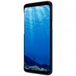 Husa Samsung Galaxy S9 G960 + Suport Birou-Nillkin Frosted Shield Neagra