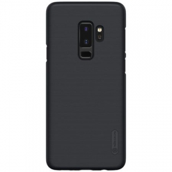 Husa Samsung Galaxy S9+ Plus G965 + Suport Birou-Nillkin Frosted Shield Neagra