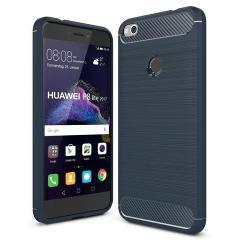Husa Huawei P8 Lite,P9 Lite (2017)-Iberry Carbon Dark Blue