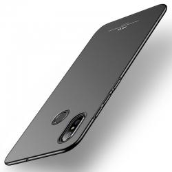 Husa Xiaomi Mi 8 + Folie Sticla-MSVII Neagra