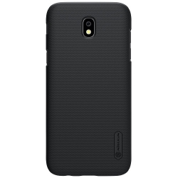 Husa Samsung Galaxy J7 J730 (2017)+Folie Sticla-Nillkin Frosted Shield Black