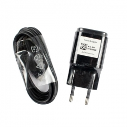 Incarcator LG G3,G4 Cablu MicroUSB-LG MCS-04ED Negru,Bulk