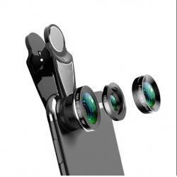 Lentile Profesionale Smartphone (Wide Angle,Fish Eye, Macro) Choetech
