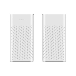 Power Bank 2.1A 30.000 mAh 2x USB-Hoco Rege B31A Alba