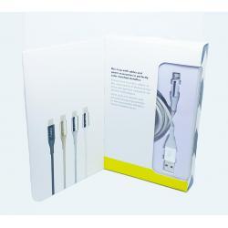 Cablu Iphone 5,5S,SE,6,6S,6 Pus,7,8,8 Plus-Iberry DuraTek Silver