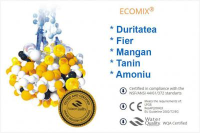 Statie de deferizare cu Ecomix Clack 25CV