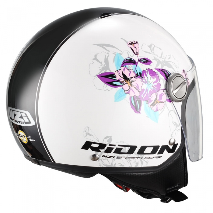 Casca moto open face | Casca scuter NZI Capital Visor Bloom 1