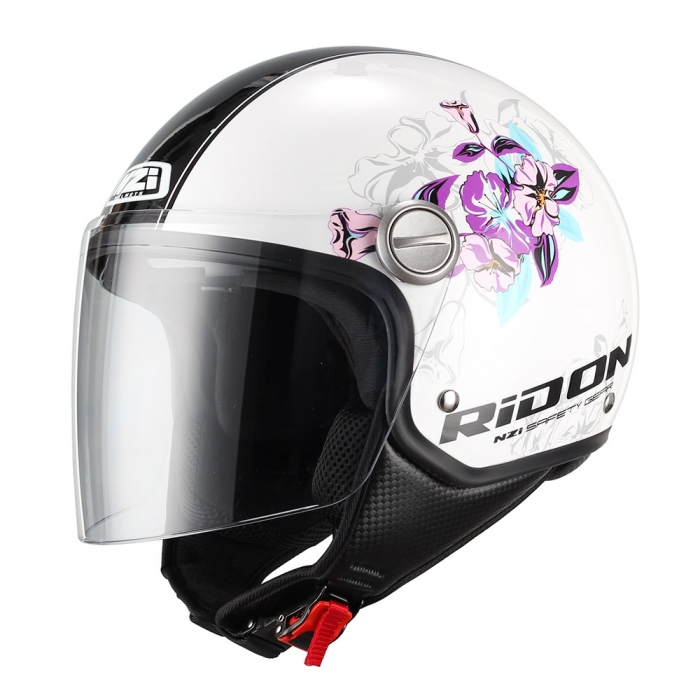 Casca moto open face | Casca scuter NZI Capital Visor Bloom 0