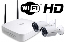 Kit wireless DAHUA IP HD 3Megapixeli supraveghere exterior Pro ve02IPHD_A0