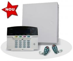 Sistem alarma hybrid (wireless+cablat) FORTEZZA PRO GSM COM1824