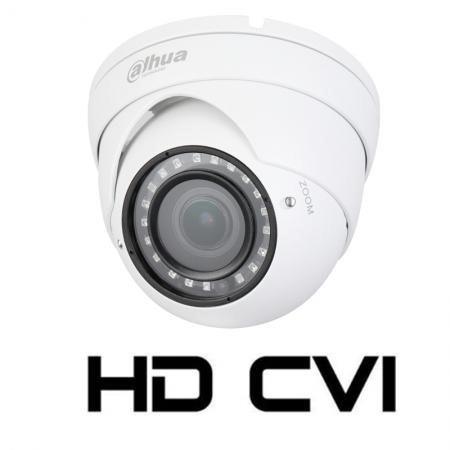 Camera de interior/exterior HDCVI 2 Megapixeli DAHUA HAC-HDW1200R-VF, varifocala