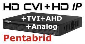 DVR Full HD pentabrid 4+2 camere HD+IP DAHUA XVR5104HS-S2