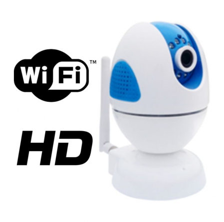 Camera rotativa IP 1 Megapixeli WiFi FORTEZZA IPC-M10i