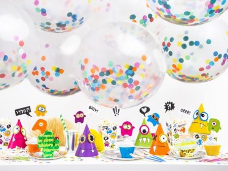 Balon gigant Confetti - 1m diametru, mix4