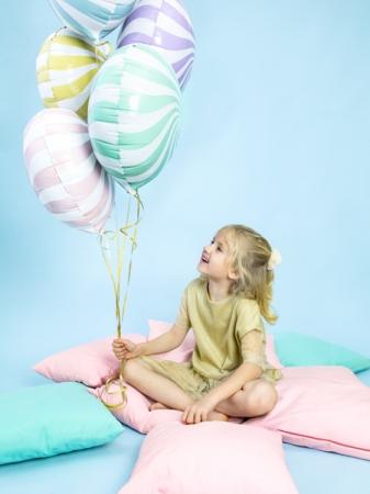 Balon folie Candy, 45cm, lila deschis4
