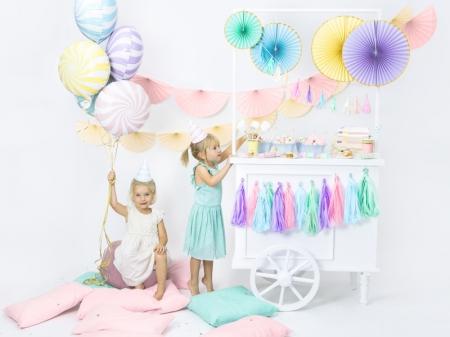 Balon folie Candy, 45cm, lila deschis5