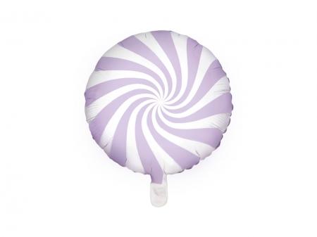Balon folie Candy, 45cm, lila deschis1