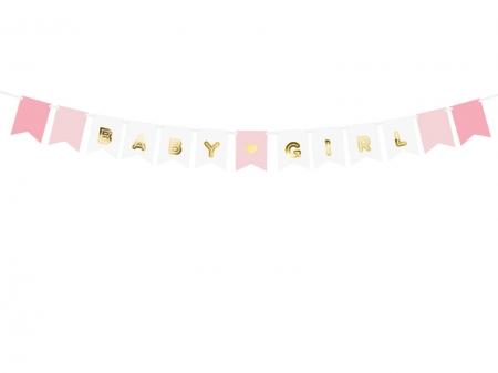 "Banner Botez Fetite ""Baby Girl"", mix, 15 x 175 cm4"