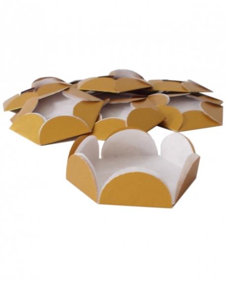 Chese aurii cupcake candy bar set 14 buc [1]