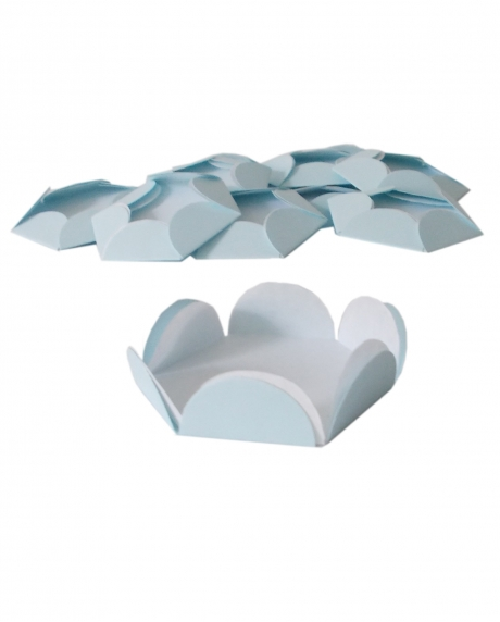 Chese bleu pastel cupcake candy bar set 14 buc 1