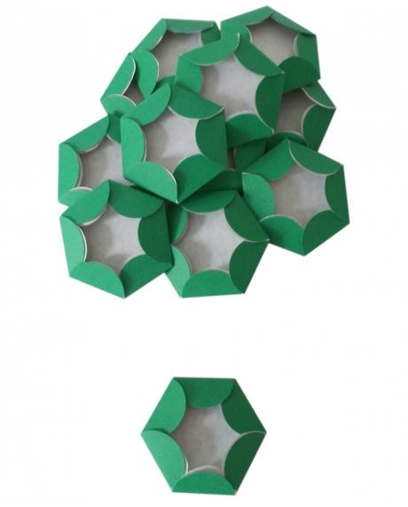 Chese verde Christmas cupcake candy bar set 14 buc [3]