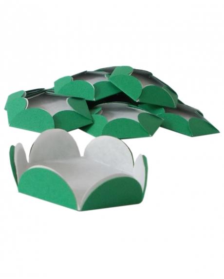 Chese verde Christmas cupcake candy bar set 14 buc [0]