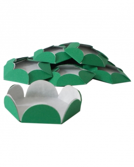 Chese verde Christmas cupcake candy bar set 14 buc [1]