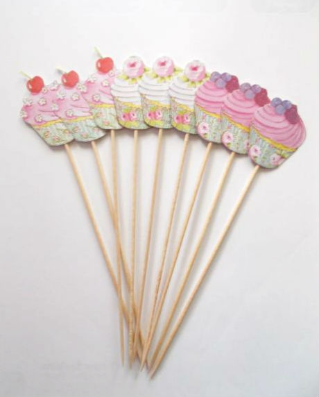 Props cupcake candy bar set 9 buc 1
