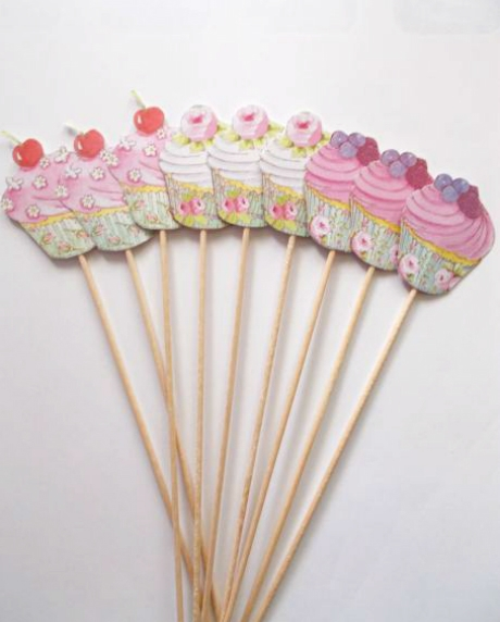 Props cupcake candy bar set 9 buc 0