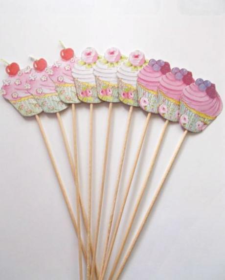 Props cupcake candy bar set 9 buc [0]