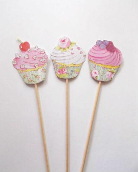 Props cupcake candy bar set 9 buc [2]