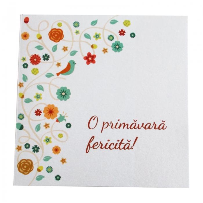 Felicitare martie floricele 1