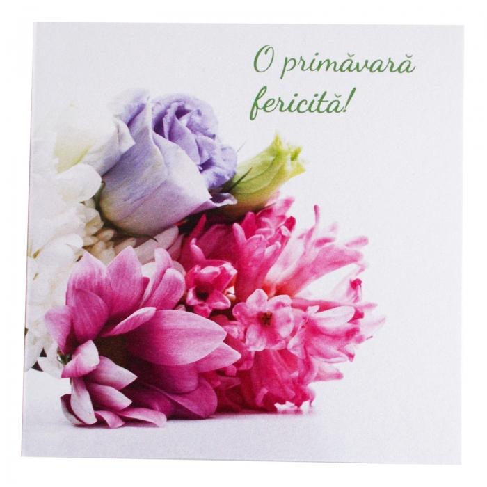 Felicitare martie mix flori 1