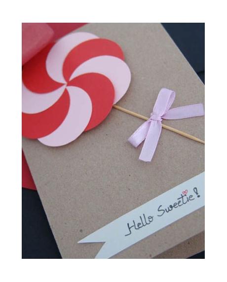 Felicitare Valentine / Dragobete CANDY 1
