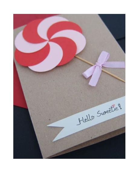 Felicitare Valentine / Dragobete CANDY 0