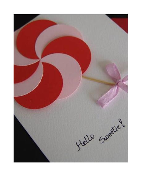 Felicitare Valentine / Dragobete CANDY 2