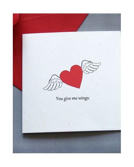 Felicitare Valentine / Dragobete HEART 0