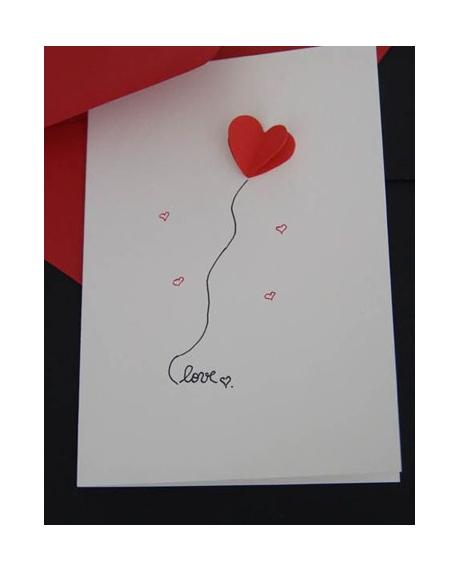 Felicitare Valentine / Dragobete LOVE 0